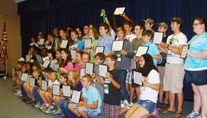 group 4-H awards