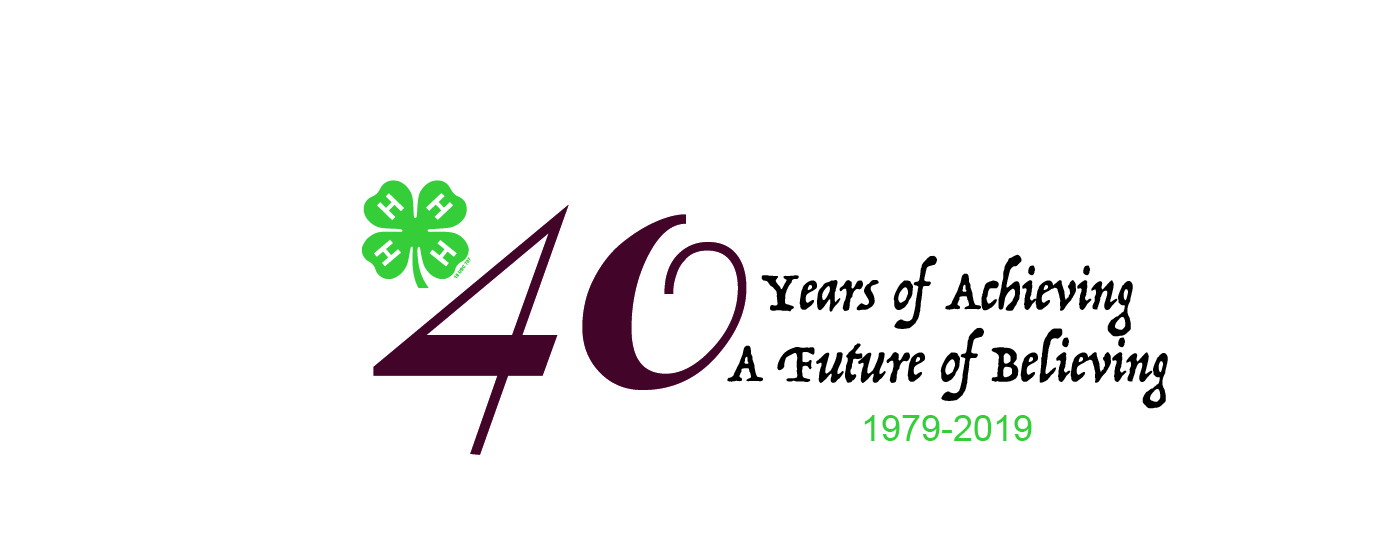 40 Years of Achieving, A Future of Believing logo