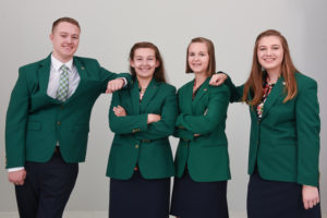 State 4-H Council Officers