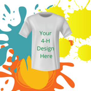 t-shirt with colors