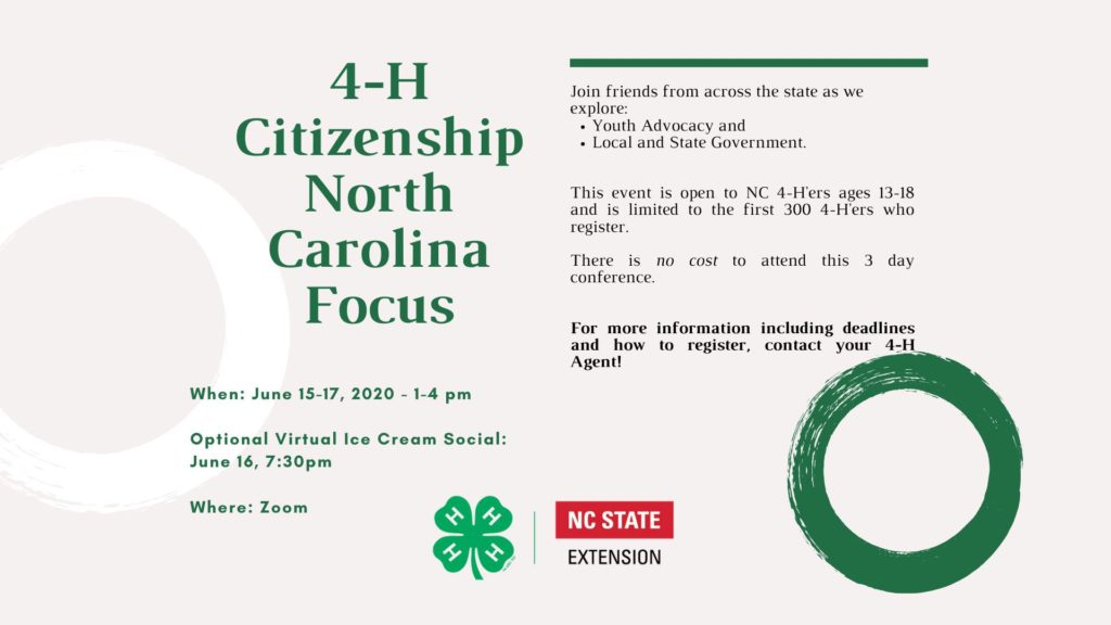 Citizenship NC Focus flyer