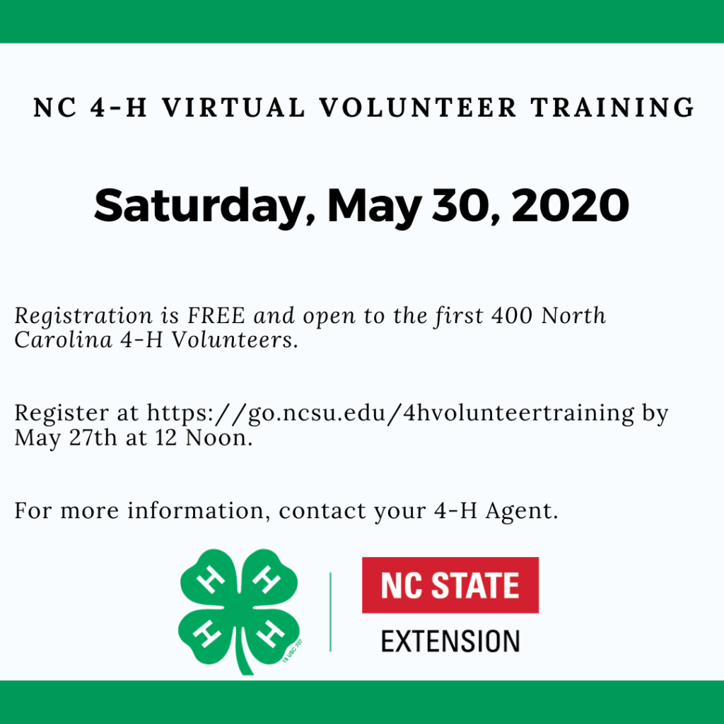 Virtual Volunteer Training