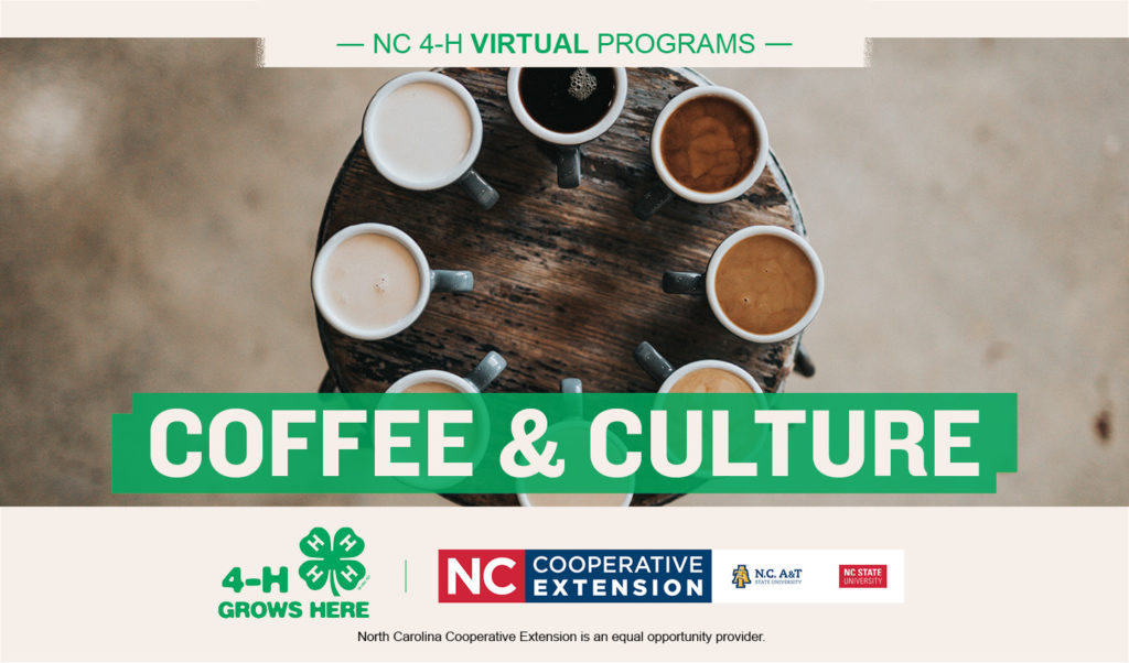 coffee and culture represented by coffee cups