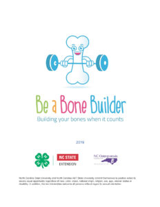 Be a Bone Builder Curriculum