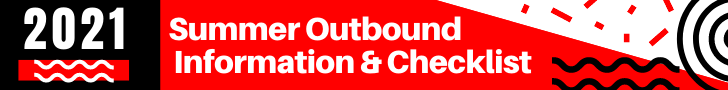 Summer Outbound Information and Checklist banner