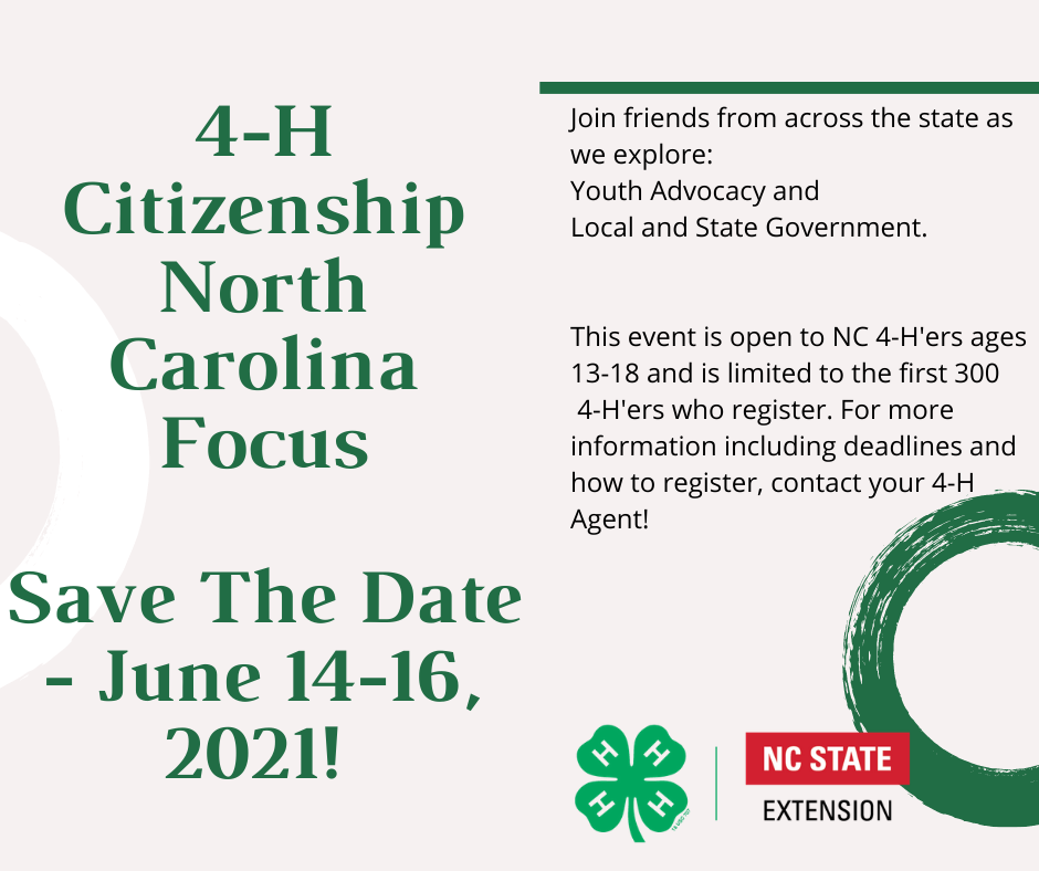 4-H Save The Date 2021