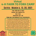 4-H Farm to Fork Camp
