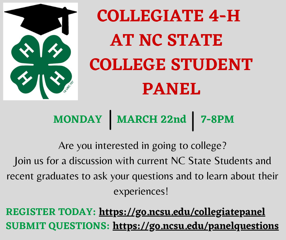 Collegiate Meeting Annoucement