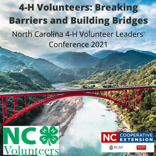 NC 4-H Volunteer Leaders' Conference Logo