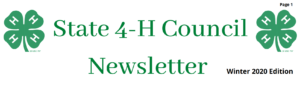 State 4-H Council logo image