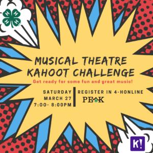 Musical Theatre Kahoot Challenge header image
